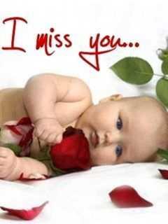 🤱క్యూట్ బేబీ🤳 - I miss you - ShareChat