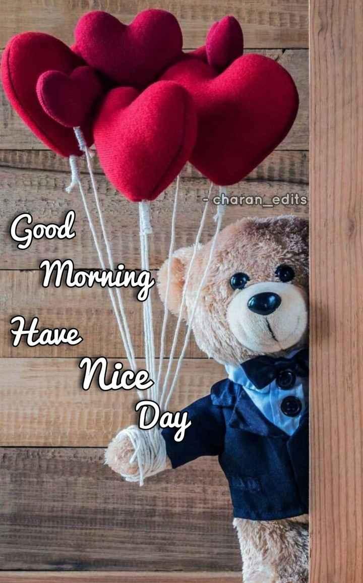 🌷గురువారం స్పెషల్ విషెస్ - - charan _ edits Good Morning Have Nice Day - ShareChat