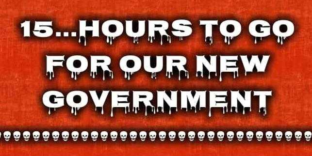 ⚔గెలుపు ఎవరిది - 15 . . . HOURS TO GO FOR OUR NEW GOVERNMENT - ShareChat