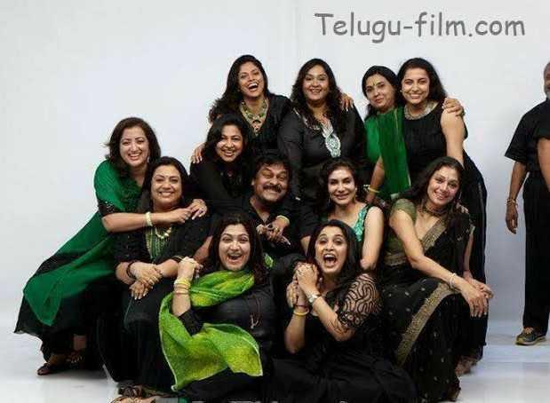 🥳చిరు ఇంట్లో 80's సందడి - Telugu - film . com - ShareChat