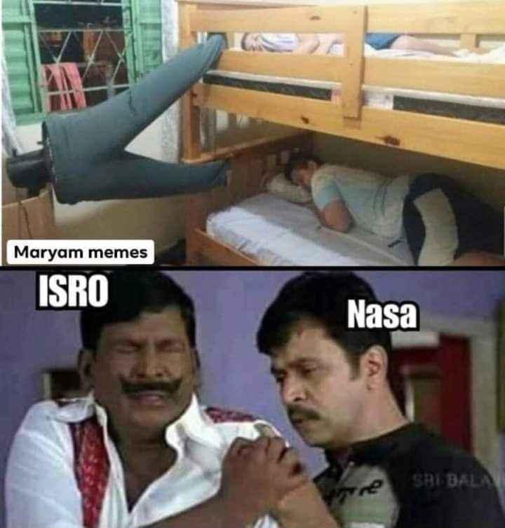 👉👇జోక్స్ 😀🤔 - Maryam memes ISRO Nasa re SHI BALA - ShareChat