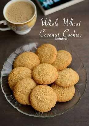 తినండి - Whole Wheat Coconut Cookies - ShareChat