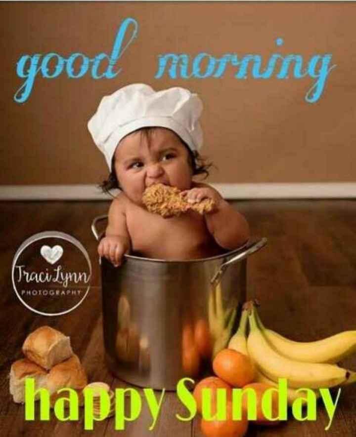 🍲తిన్నావా - good morning Traci Lynn пнотос Ану ) happy Sunday - ShareChat