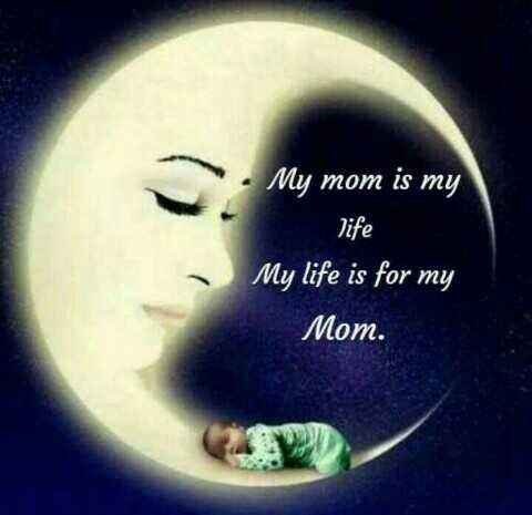 🍲తిన్నావా - • My mom is my life My life is for my Mom . - ShareChat