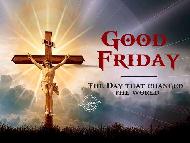 🔱దేవుళ్ళు - INRI GOOD FRIDAY THE DAY THAT CHANGED THE WORLD DESICOMMENTS DESCOM - ShareChat