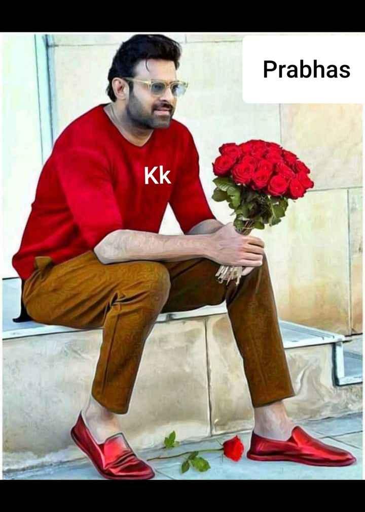 🖐🧡నా ఫేవరెట్ హీరో🕴🏼 - Prabhas KK - ShareChat