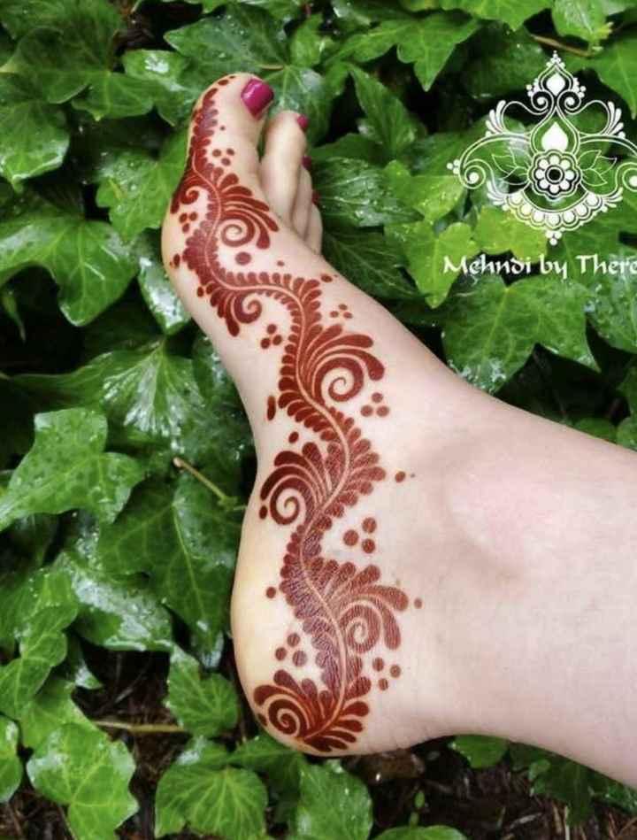 💅నెయిల్ ఆర్ట్ - Mehndi by There - ShareChat