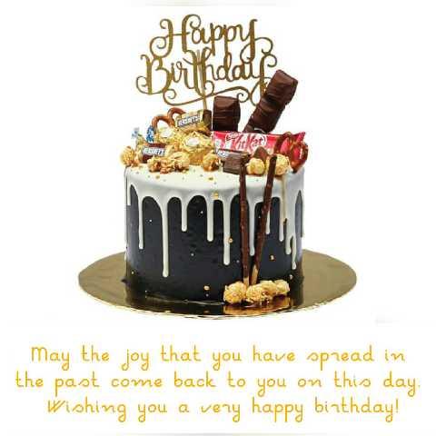 🎂పుట్టిన రోజు - BERG let May the joy that you have spread in the past come back to you on this day . Wishing you a very happy birthday ! - ShareChat