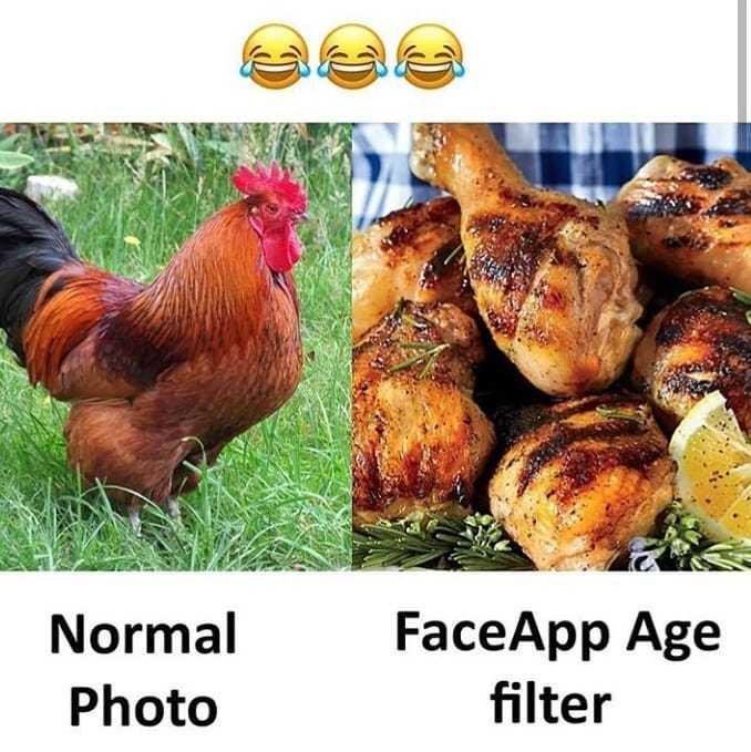 🤣పేస్ యాప్ ఛాలెంజ్ - Normal Photo FaceApp Age filter - ShareChat