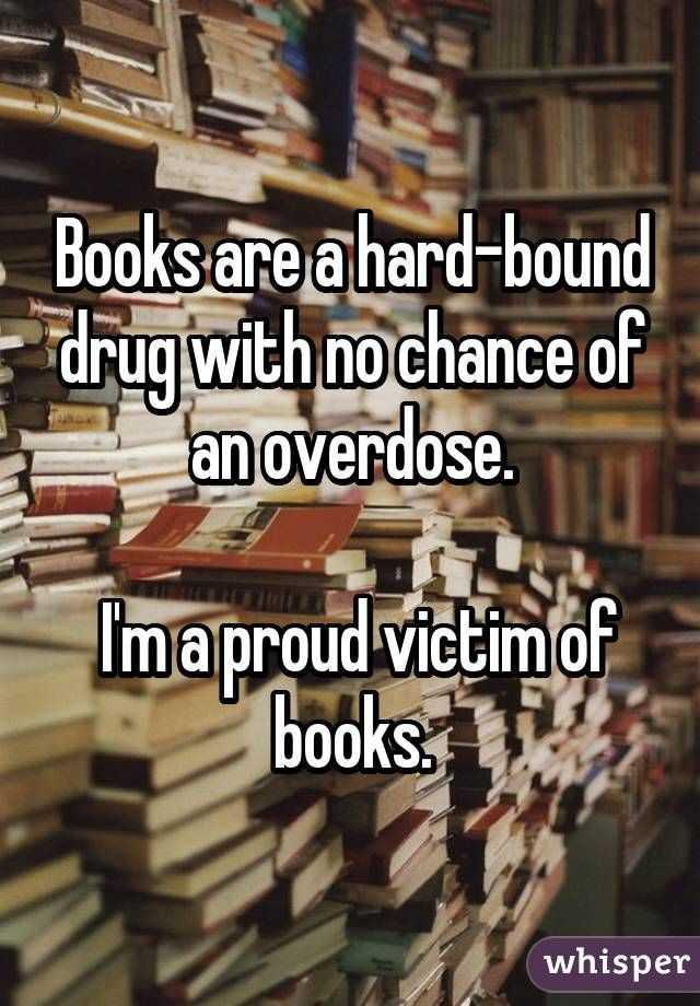 📖 ప్రపంచ పుస్తక దినోత్సవం - Books are a hard - bound drug with no chance of an overdose . Ima proud victim of books : 1 - ShareChat