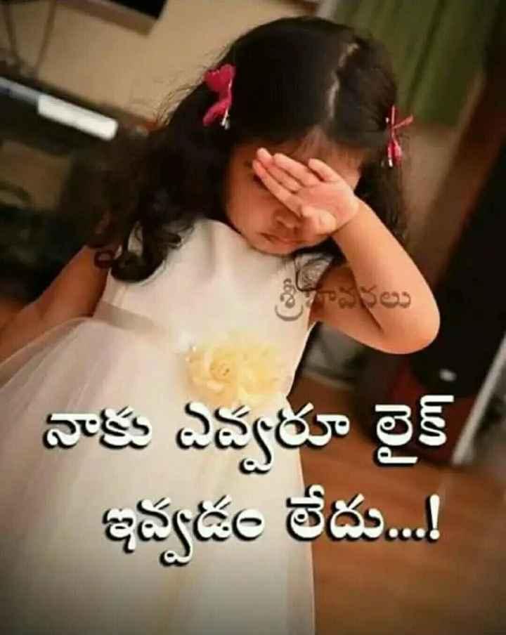 😆ఫన్నీ - శ్రీవరలు నాకు ఎవ్వరూ లైక్ / ఇవ్వడం లేదు . . ! - ShareChat