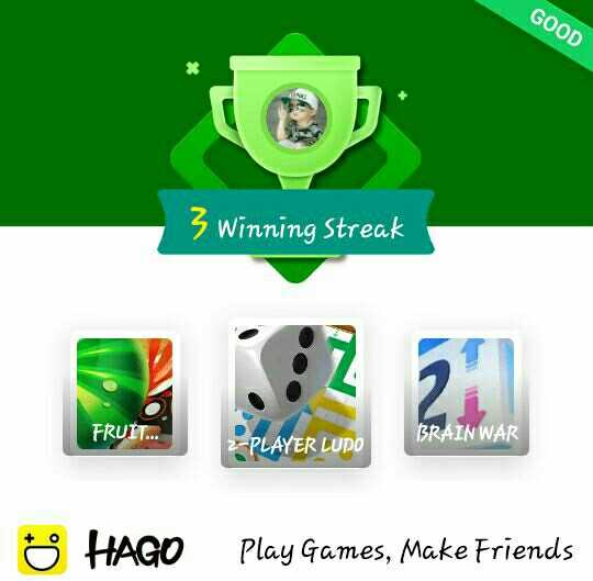 😆ఫన్నీ - GOOD 3 Winning Streak FRUIT . . . BRAIN WAR 2 - PLAYER LUPO Ö HAGO Play Games , Make Friends - ShareChat
