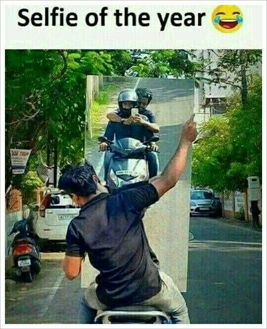 ఫన్నీ😂😂😂 - Selfie of the year . - ShareChat