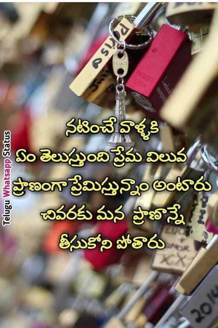 👫 బంధం - OSI EVANGE Telugu Whatsapp Status నటించే వాళ్ళకి శి ఏం తెలుస్తుంది ప్రేమ విలువ ప్రాణంగా ప్రేమిస్తున్నాం అంటారు శ్రీ చివరకు మన ప్రాణాన్నే ! తీసుకోని పోతారు - ShareChat
