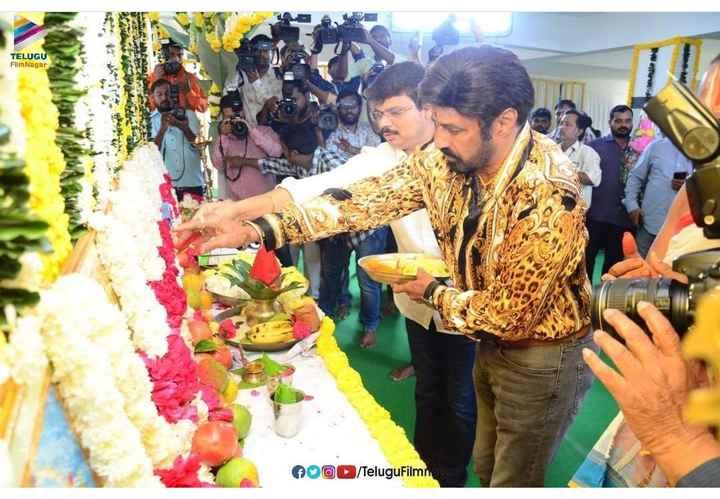 😎బాలకృష్ణ బోయపాటి సినిమా - TELUGU Film Nagar MOOD / TeluguFilm - ShareChat