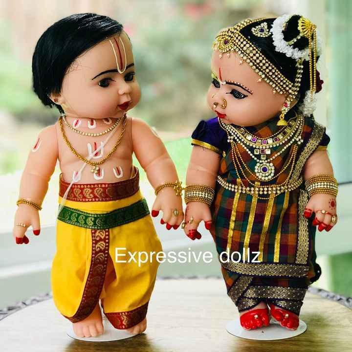 బొమ్మల కొలువు - 366066 900 0 07 OR Expressive dollz - ShareChat