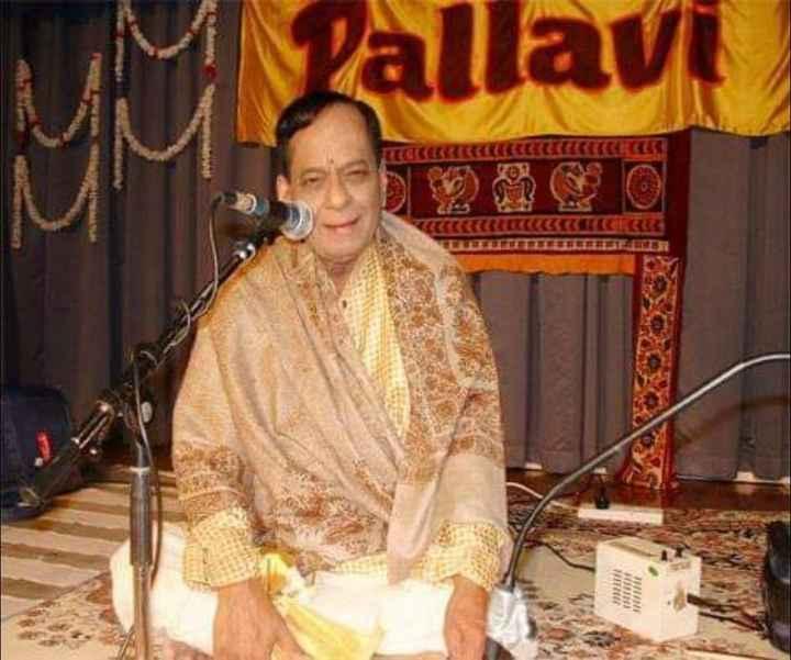 🌹మంగళంపల్లి బాలమురళీకృష్ణ వర్ధంతి 🌹🌷 - uy Pallavi SO OD MIN - ShareChat