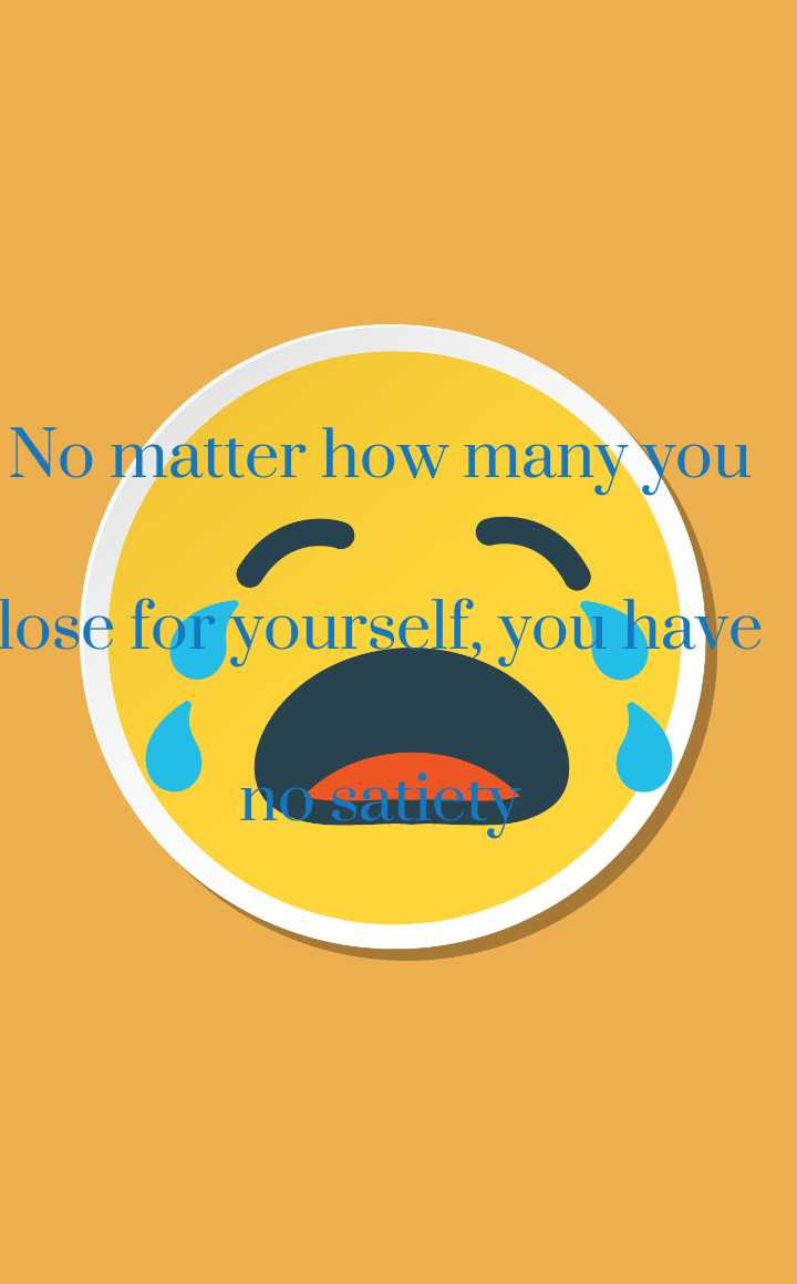 😔మూడ్ ఆఫ్ స్టేటస్ - No matter how many you lose for yourself , you have no sat - ShareChat