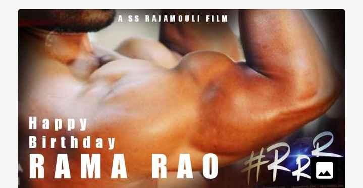 యంగ్ టైగర్ ntr పుట్టినరోజు - A SS RAJAMOULI FILM Happy Birthday 1 . M A 10 đ - ShareChat