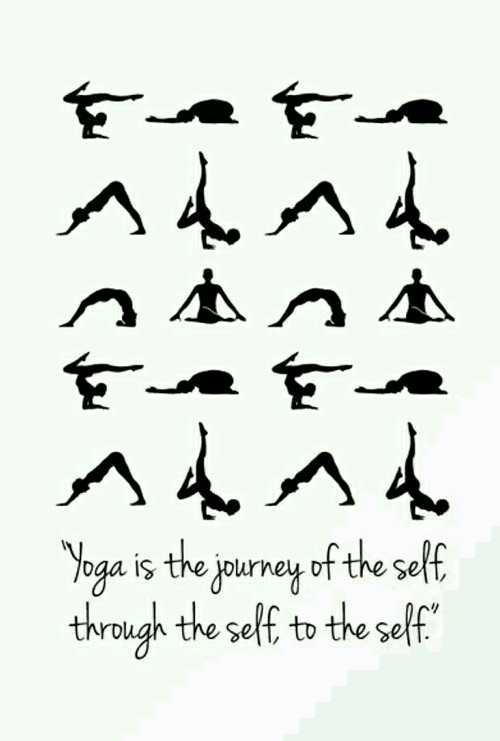 ☀యోగాసనం - har çeter s sasa Т . Е . ndad Yoga is the journey of the self through the self to the self - ShareChat