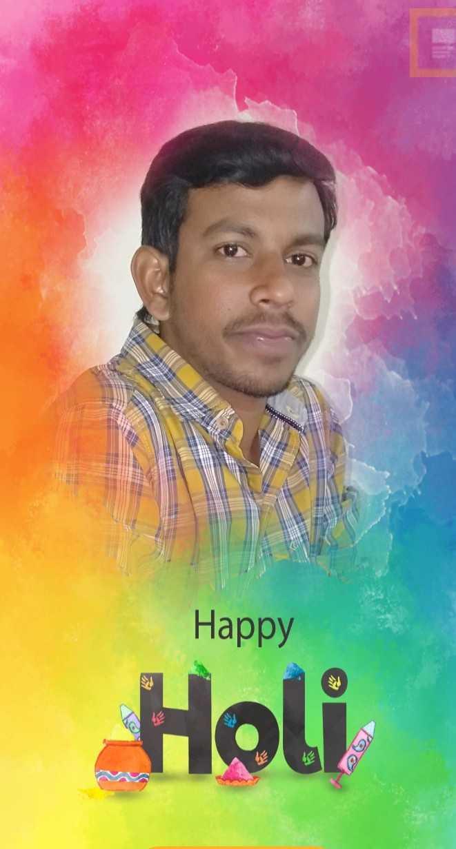 🎉🎁రంగుల హోలీ - Happy Holi - ShareChat