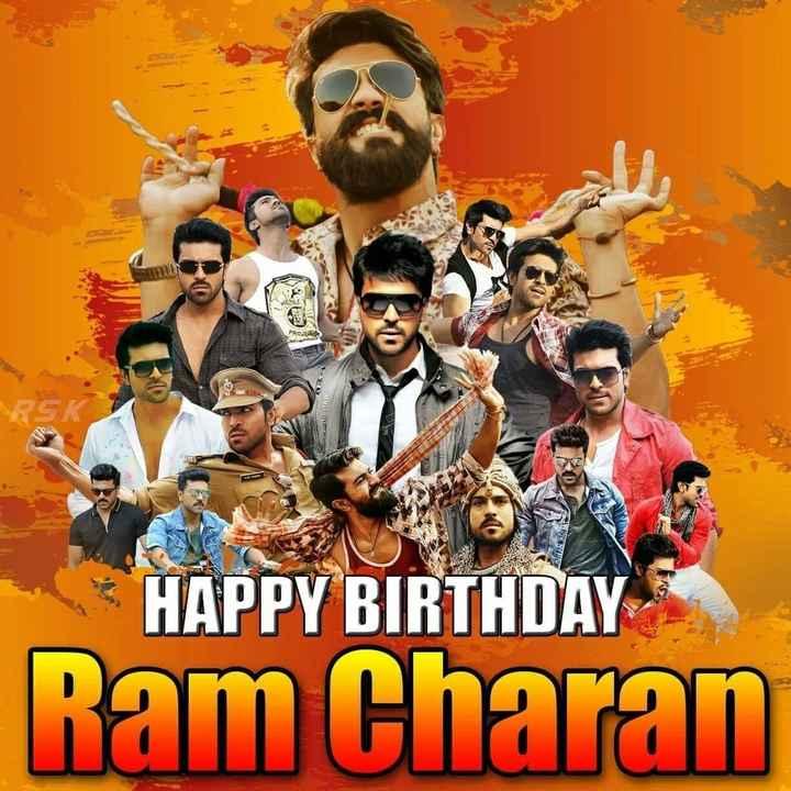 🎁రాంచరణ్ బర్త్డే సెలెబ్రేషన్స్ 🎉 - WINCO HAPPY BIRTHDAY Ram Charan - ShareChat