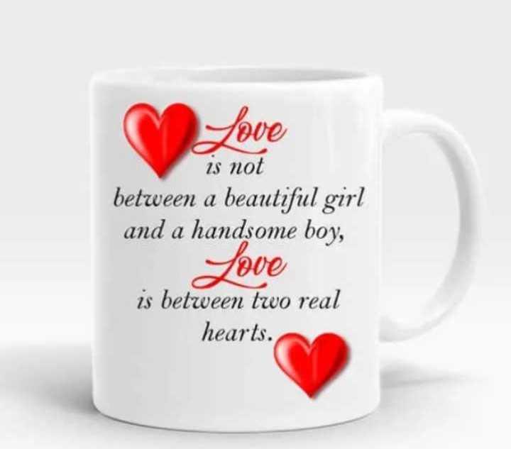 💓లవ్ Whatsapp స్టేటస్ - Love is not between a beautiful girl and a handsome boy , Jove is between two real hearts . - ShareChat