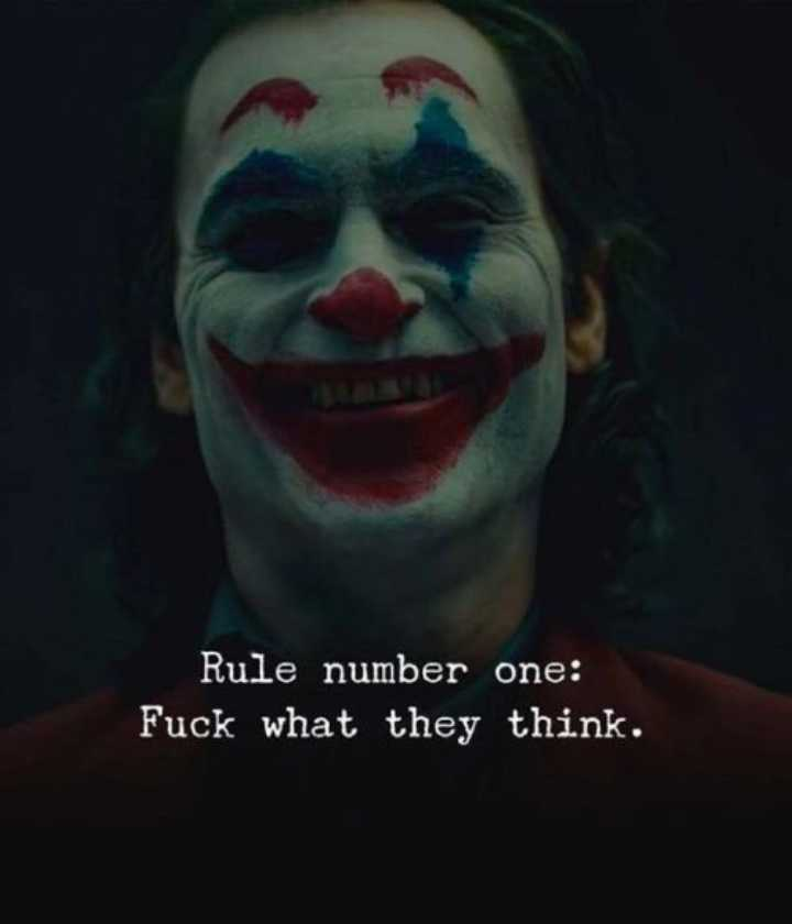 😥వన్ సైడ్ లవ్ - Rule number one : Fuck what they think . - ShareChat