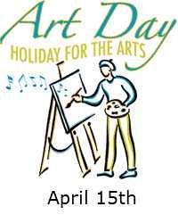 వరల్డ్ ఆర్ట్ డే - Art Day HOLIDAY FOR THE ARTS April 15th - ShareChat
