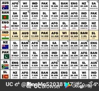 వరల్డ్ కప్ టీమ్స్ 2019 - WI IND PAK BANIENG 20 UN 25 JUN NZ ENG ISL WI AUS AFG IND JUN JUN 17 JUN I 20 JUN 24 JUN 2 JUL PAK PAK BAN WI AFG NZ SL 21 JUN AUS IND 25 JUN 30 JUN AUS JUN NZ PAK AFG 13 JUN 16 JUNI 22 JUN WI ENG 27 JUN 30 JUN BAN 1 JUL SL & JUL BAN AFG JUN IND 13 JUN SA 19 JUN WI PAK 22 JUN 26 JUN AUS ENG 29 JUN JUL SL AFG AUS 12 JUN IND 16 JUN SA 23 JUN NZ 26 JUN BAN SNL ENG BAN IND WI 10 JUN PAK 23 JUN AUS S JUN 19 JUN ENG NZI AFG 1 JUN PAK 7 JUN SAWI 20 JUN 1 JUL IND . NL JUN 11 JUN UC @ 9M6252838157ceea poats - ShareChat