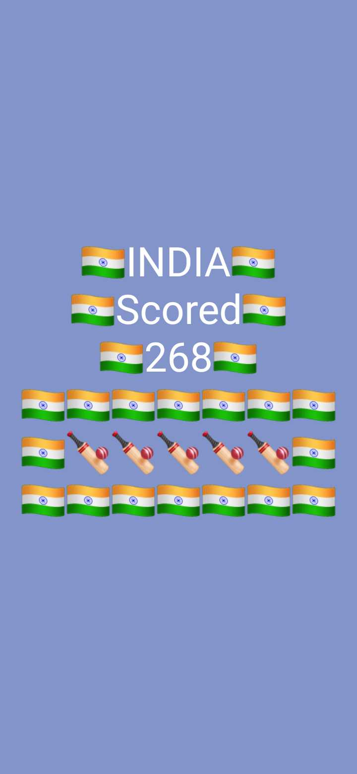 🏆వరల్డ్ కప్ పోల్స్ - INDIAS oScored - - 2685 - ShareChat