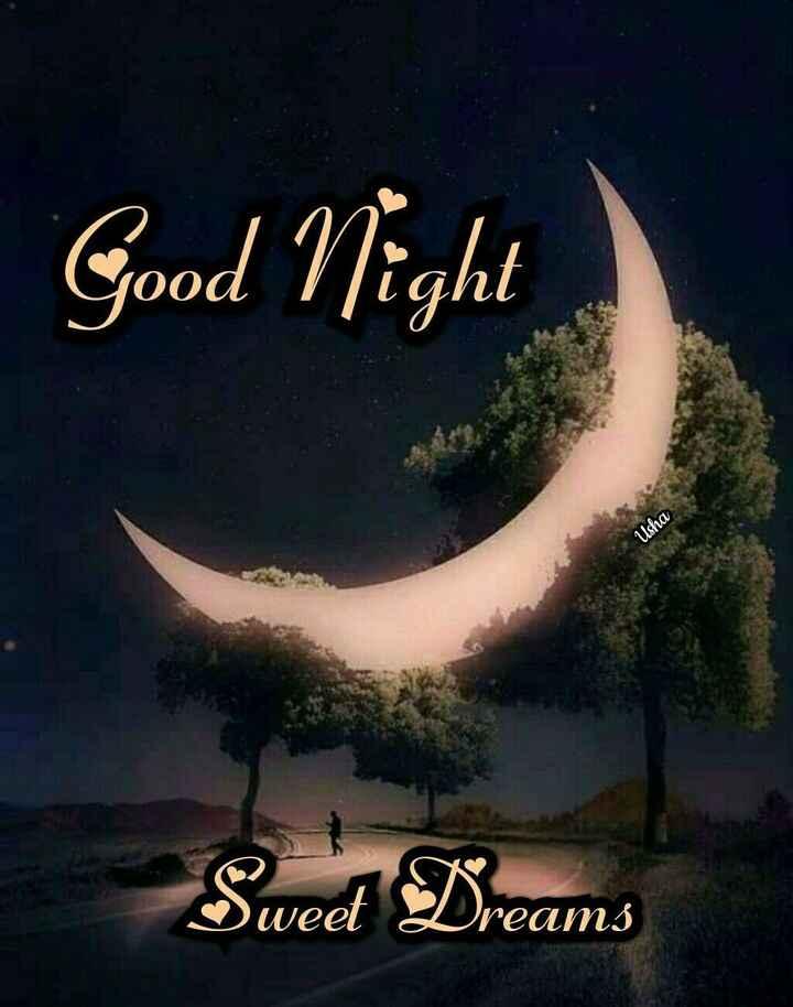👋విషెస్ స్టేటస్ - Good Night Usha Sweet ream - ShareChat