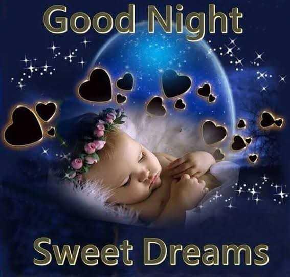 👋విషెస్ స్టేటస్ - Good Night Sweet Dreams - ShareChat