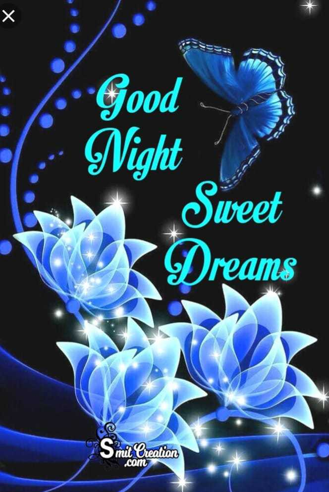 👋విషెస్ స్టేటస్ - : : Good - 3 . : Night Sweet Dreams Smit Creation . com - ShareChat
