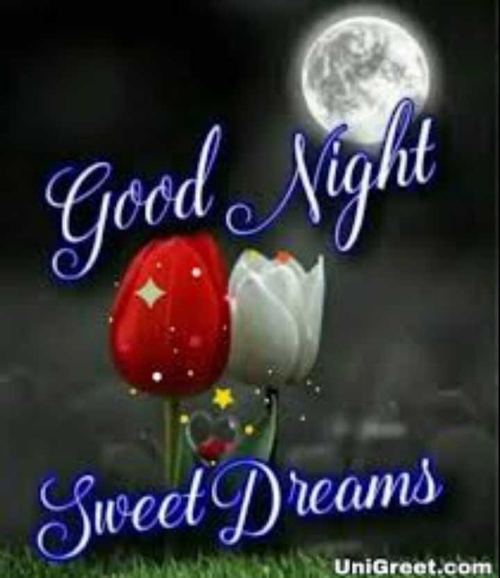 😴శుభరాత్రి - Sweet Dreams UniGreet . com - ShareChat