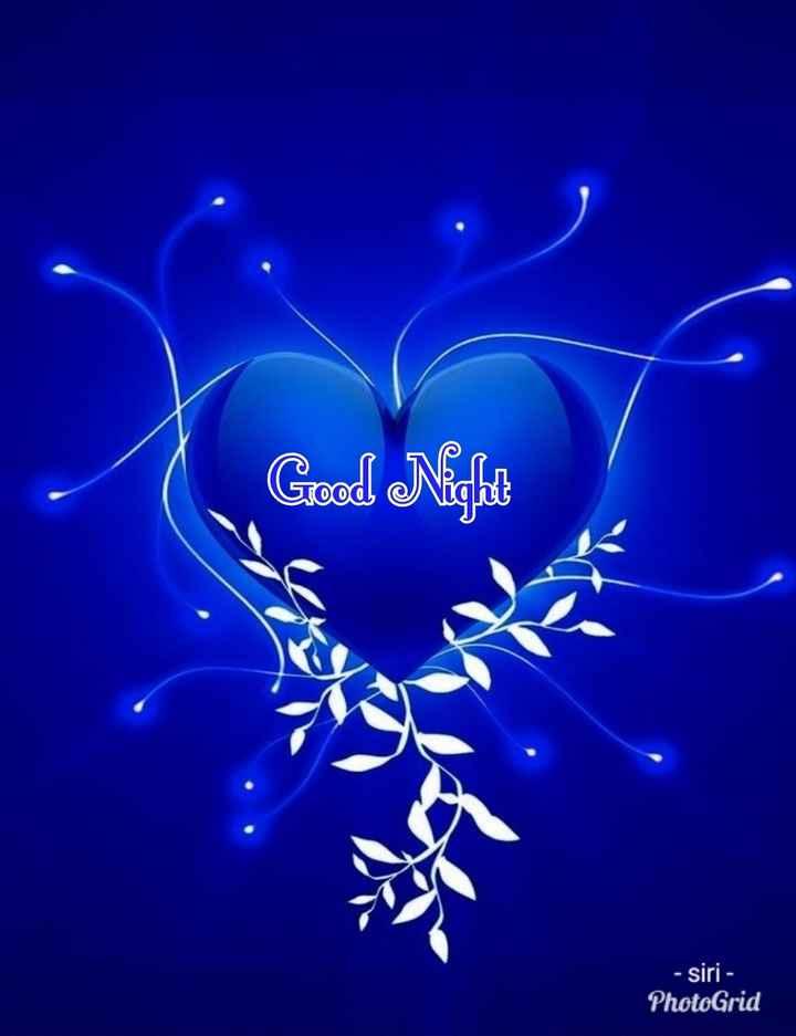 😴శుభరాత్రి - Good Night STO - siri - PhotoGrid - ShareChat
