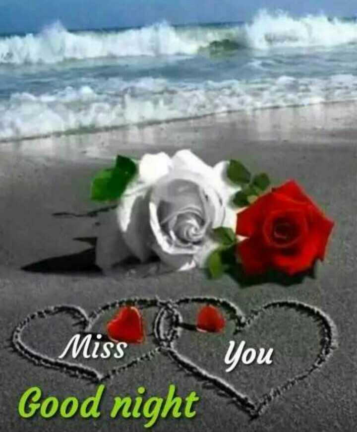 😴శుభరాత్రి - Miss You Good night - ShareChat