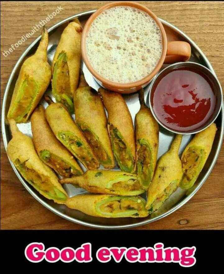 🌇శుభసాయంకాలం - thefoodiewiththebook Good evening - ShareChat