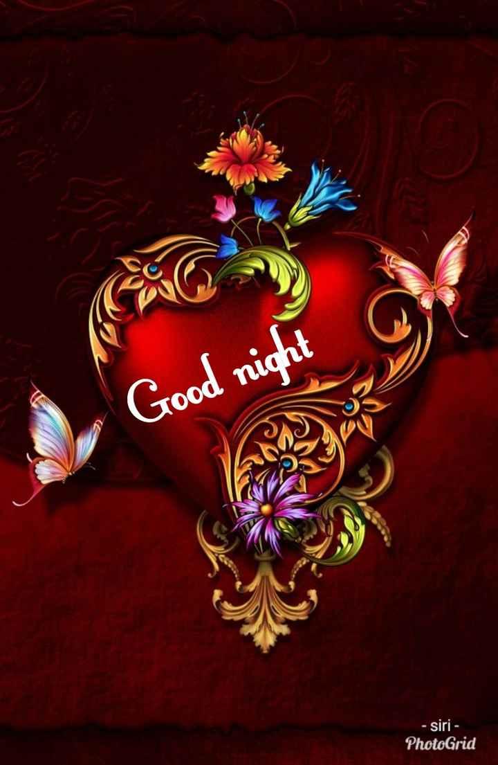 🙏శుభాకాంక్షలు - Good night - siri - PhotoGrid - ShareChat