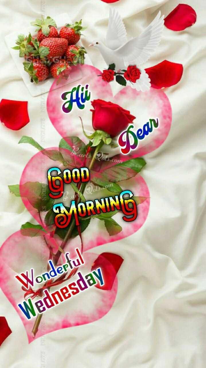 🙏శుభాకాంక్షలు - Hü Dear SNIOLO Coon MORNING SOM Wonderful Wednesday - ShareChat