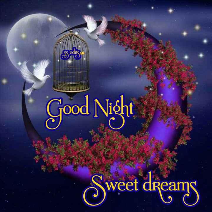 🙏శుభాకాంక్షలు - Sledits CO AO Good Night Sweet dreang - ShareChat