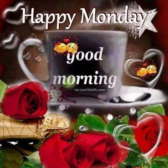 🌅శుభోదయం - Happy Monday good morning 0 Via LoveThisPic . com - ShareChat