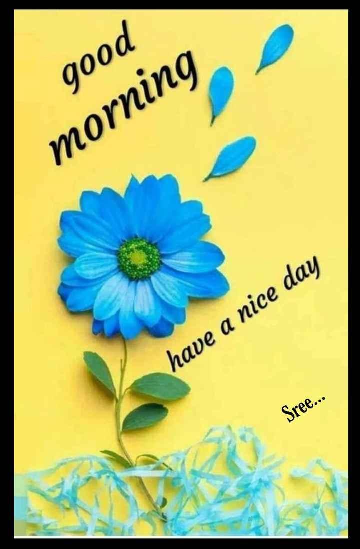 🌅శుభోదయం - good morning have a nice day Sree . . . - ShareChat