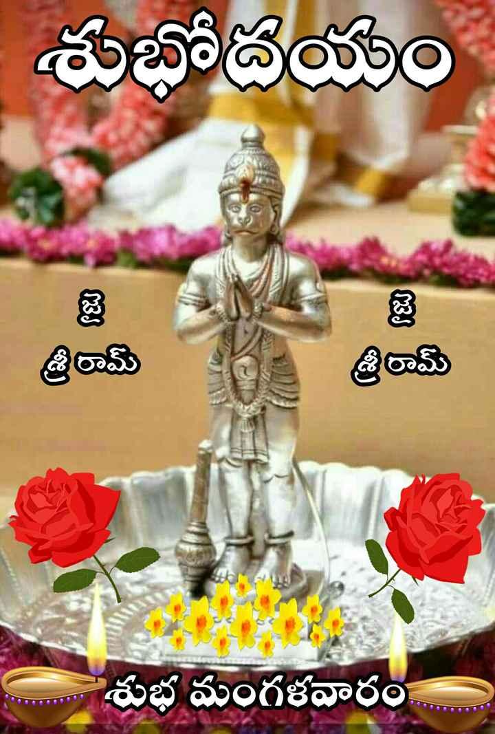 🌅శుభోదయం - శుభోదయం . జై శ్రీ రామ్ శ్రీ రామ్ శుభ మంగళవారం - ShareChat