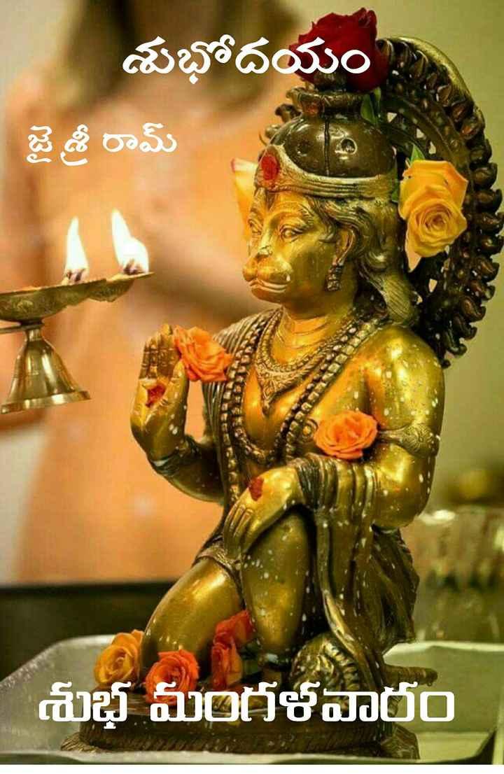 🌅శుభోదయం - శుభోదయం జై శ్రీ రామ్ శుభ మంగళవారం - ShareChat