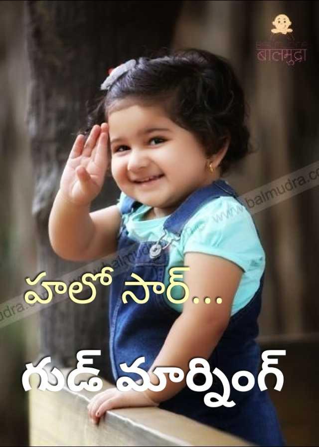 🌅శుభోదయం - बालमुद्रा www . balmudra . cc dra హలో సార్ . . . . గుడ్ మార్నింగ్ - ShareChat