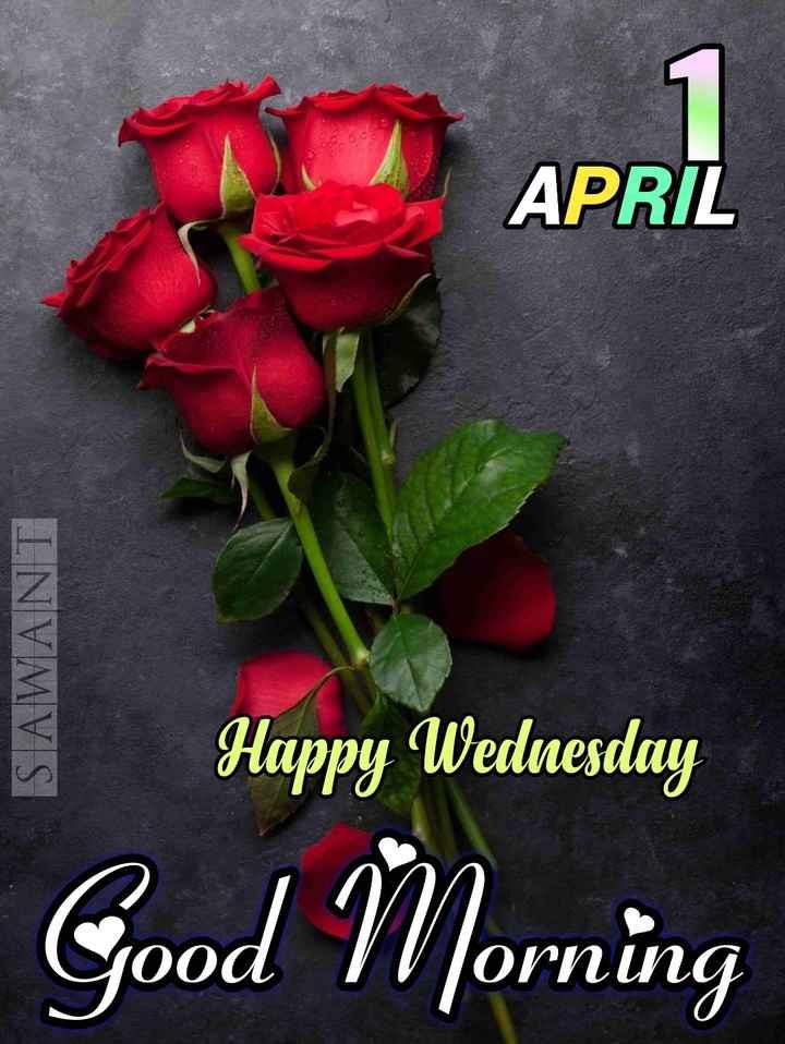 🌅శుభోదయం - APRIL SAWANT way Walentong Happy Wednesday Good Morning - ShareChat