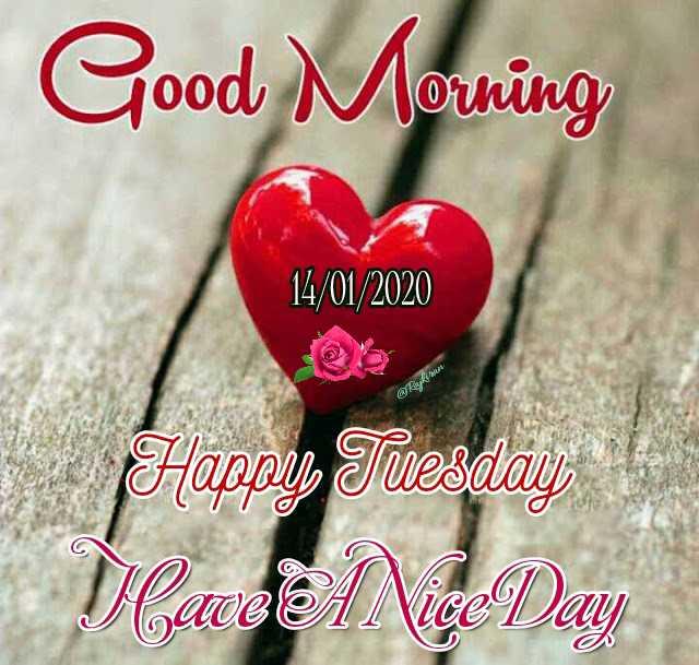 🌅శుభోదయం - Good Morning 14 / 01 / 2020 @ aykut Happy Tuesday - ShareChat