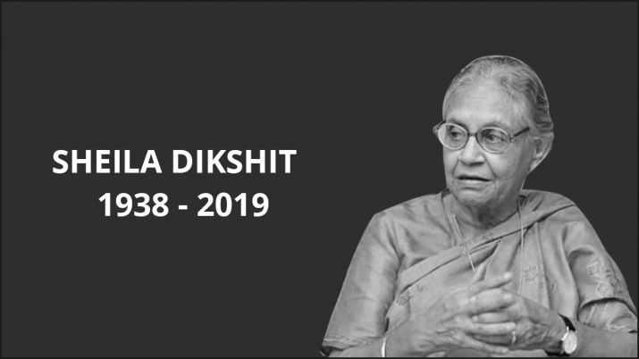 💐షీలాదీక్షిత్ కన్నుమూత - SHEILA DIKSHIT 1938 - 2019 - ShareChat