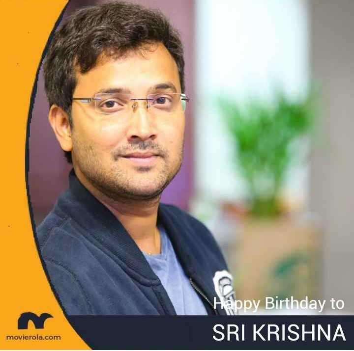 🎂సింగర్ శ్రీకృష్ణ పుట్టినరోజు🎁🎉 - Happy Birthday to SRI KRISHNA movierola . com - ShareChat